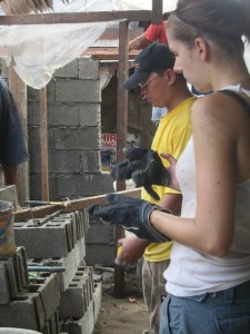 Volunteer on a Construction Project in the Philippines