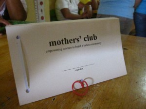 Mothers Club Micro Financing