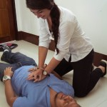 How to do chest compressions