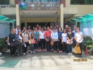 Tacloban Airshed visits EMB-NCR